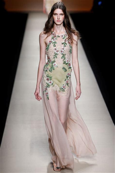 Dress Miulan Rosane alberta ferretti summer 2015 ready to wear