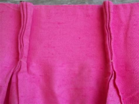 shocking pink curtains vintage shocking pink curtain panels full length drapes
