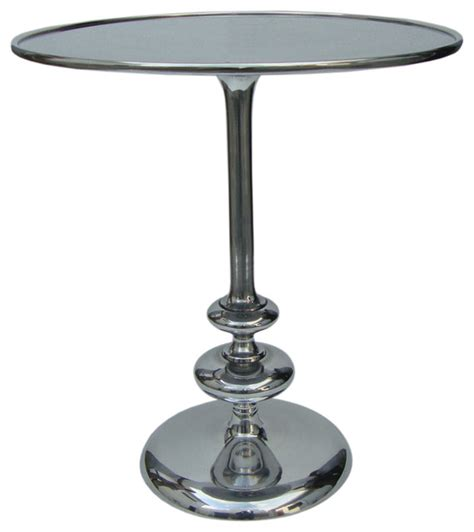 pedestal accent tables marlow matchstick pedestal table contemporary side