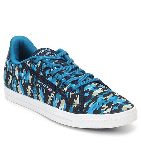 Blue Shoes by Reebok Blue Printed Shoes Price In India Buy Reebok Blue