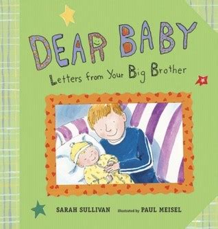 dear up letter from the book dear baby letters from your big by sullivan
