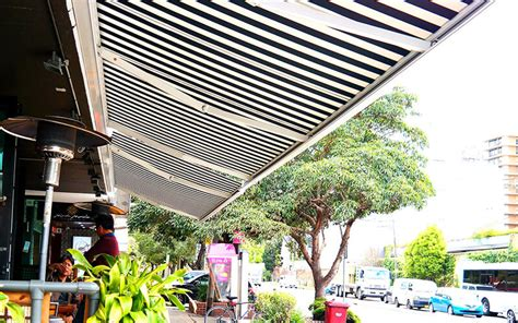 retractable awnings canberra the blind shop retractable awning for the canberra region