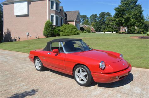 1991 Alfa Romeo Spider by 1991 Alfa Romeo Spider Alfa Romeo Spider Veloce