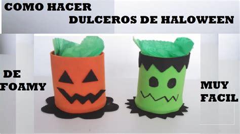 imagenes de halloween fieltro como hacer dulceros haloween en foami facil youtube