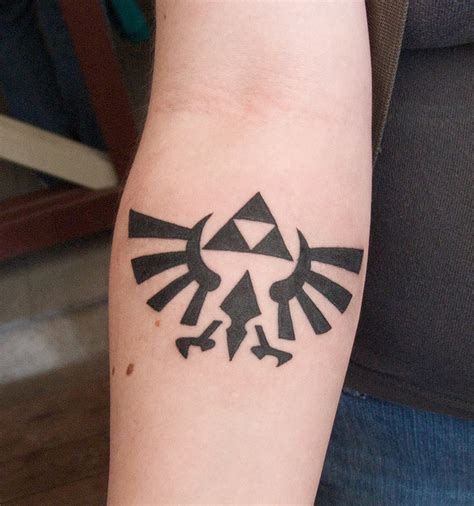 tattoo ideas zelda triforce search ideas