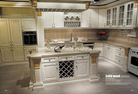 Kitchen Cabinets Furniture China Kitchen Furniture Kitchen Cabinet Antique Style Solid Wood Dm S001 China Kitchen