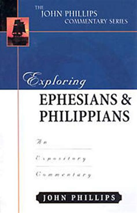 philippians a linguistic commentary books the phillips commentary series exploring ephesians