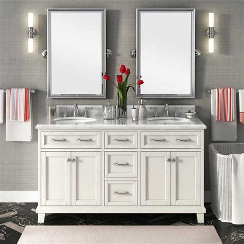 carolina 60 white double vanity by lanza best 25 double vanity ideas on pinterest double