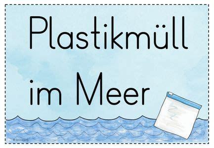 plastikmuell im meer unterrichtsreihe