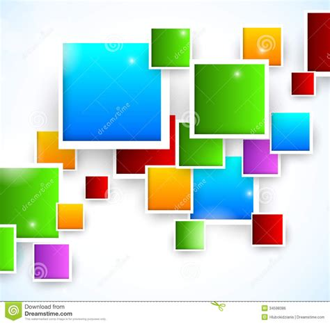 format eps image abstract background with squares stock vector image