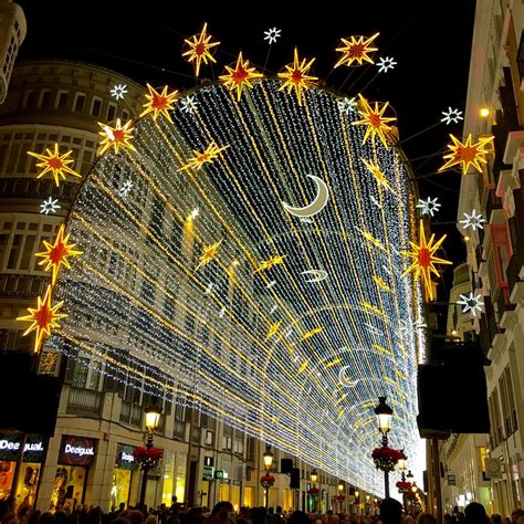 iluminacion navidad malaga 2018 christmas in malaga lights markets and new year s eve