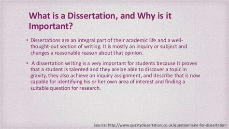 whats a dissertation how to write a dissertation questionnaire