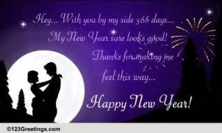 new year romantic wish free fireworks ecards greeting
