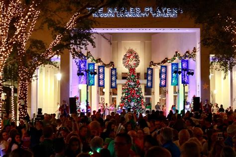 naples tree lighting 2017 may tourism spending up 7 percent in collier lee herald
