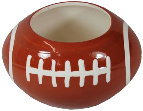 Ceramic Football Vase by Cn1034 7 25 Quot Ceramic Football Planter