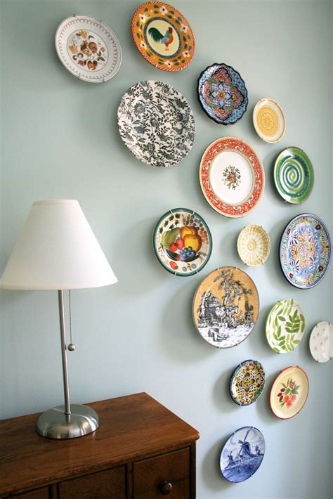 Decor Plates Wall by Mmmcrafts Corners Of House Foyer Plate Wall