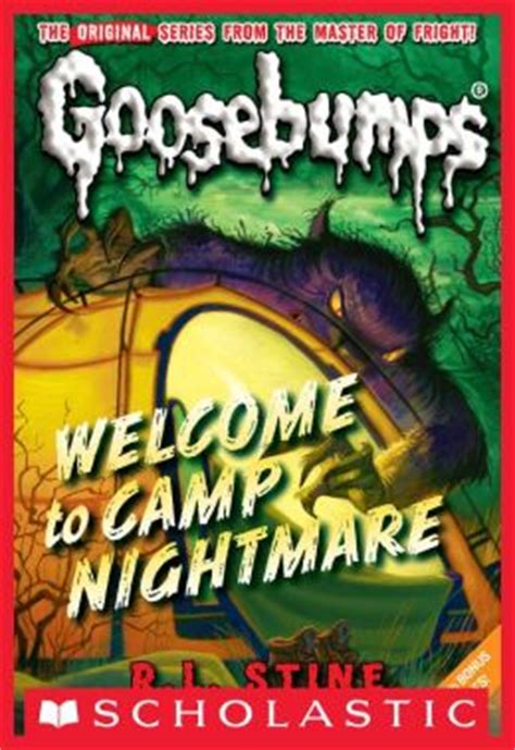 nightmare books classic goosebumps 14 welcome to c nightmare by r l