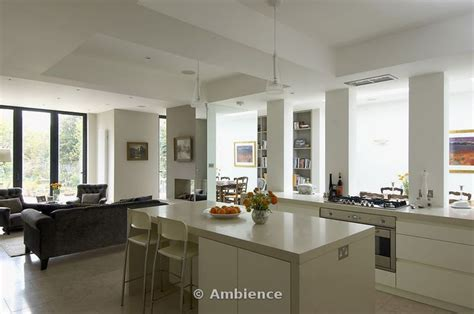 Open Plan Kitchen And Living Area by Kitchen Dining Living Richmond Park Road Extension