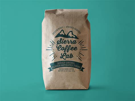 Handmade Personalized - custom coffee bags stunning quality low minimums inkable