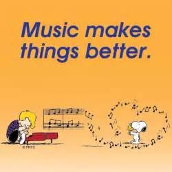 peanuts soundtrack makes things better snoopy and schroeder peanuts characters by charles schultz