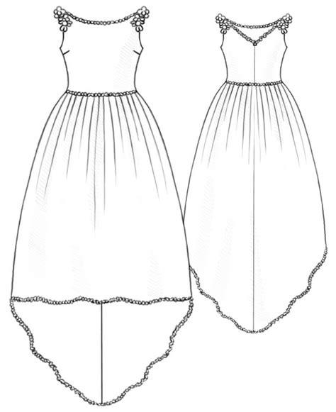 wedding dress sewing pattern    measure