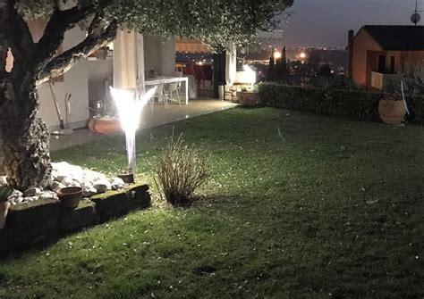 led da giardino lioncini da giardino moderni led illuminazione giardino