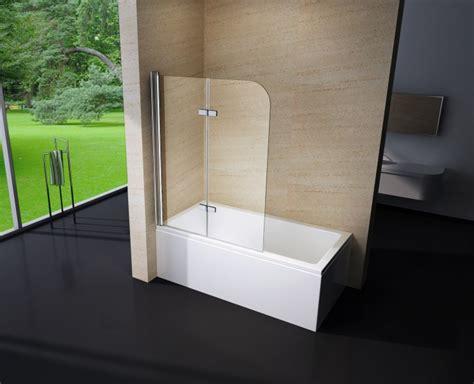 Badewanne Mit Duschwand by Duschabtrennung Duschwand Badewanne Nano Echtglas Ex209