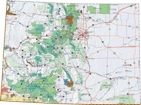 colorado mountains map colorado map mountains my