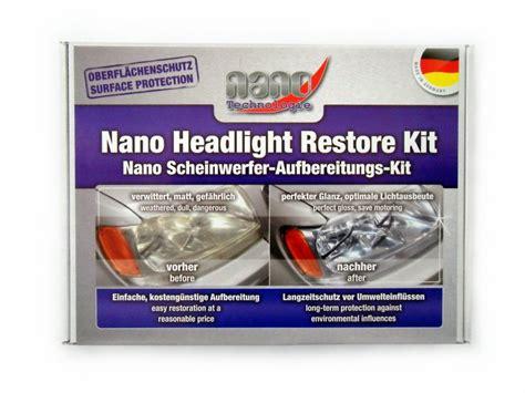 headlight restoration kit nano headlight restore kit fahrzeugteile vogler lpg shop