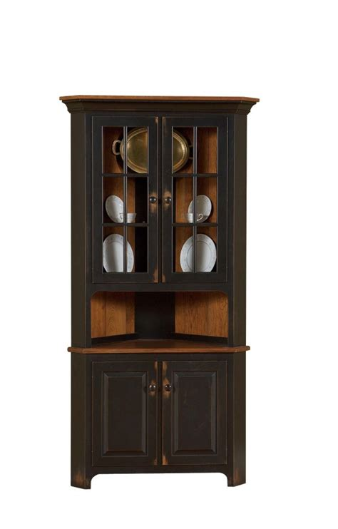 corner buffet cabinet all corner hutches lancaster legacy truewood furniture