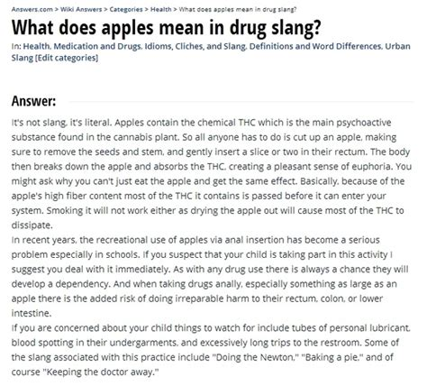 rug slang what does apples in slang meme