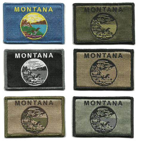 state tactical patches 2 quot x3 quot montana state tactical patch
