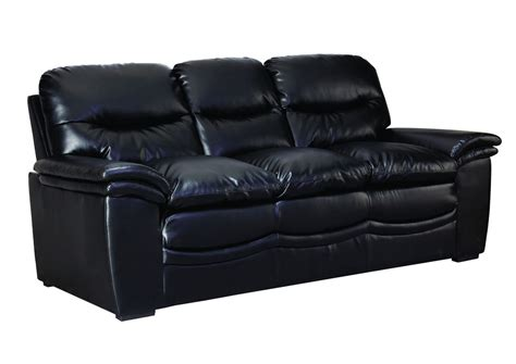 black bonded leather sofa black bonded leather sofa 187 bonded leather sofa in black