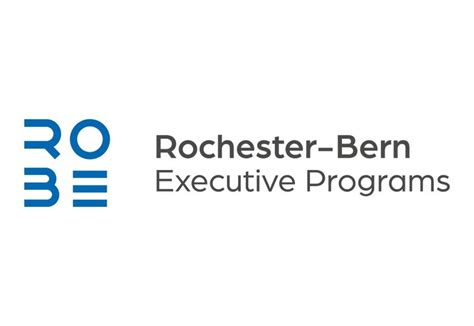 Rochester Mba Ranking by Rochester Bern Executive Programs Business Schools Mbas