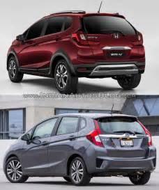 Honda Vs Honda Wr V Vs Honda Jazz Photo Comparison