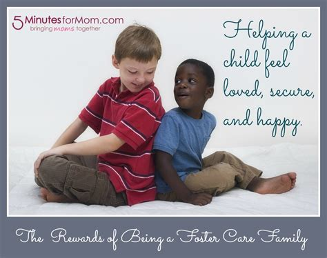foster care the rewards of being a foster care family 5 minutes for