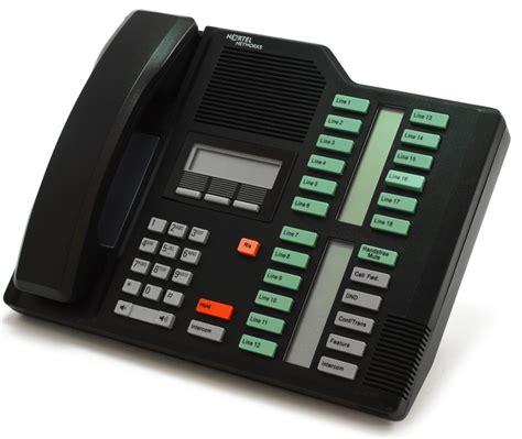 prise programmable 1714 nortel norstar m7324 black receptionist display phone nt8b40
