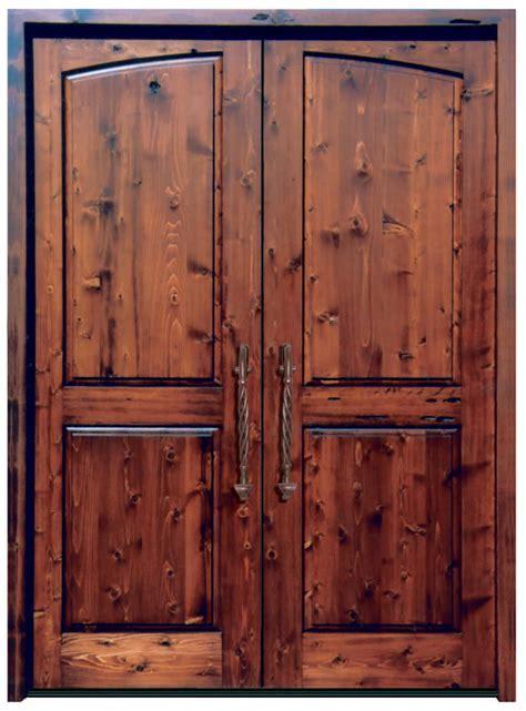 Solid Wood Doors   High End Double Doors   Custom Entry Doors