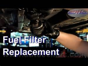 how to replace your fuel filter exle 2004 chevrolet