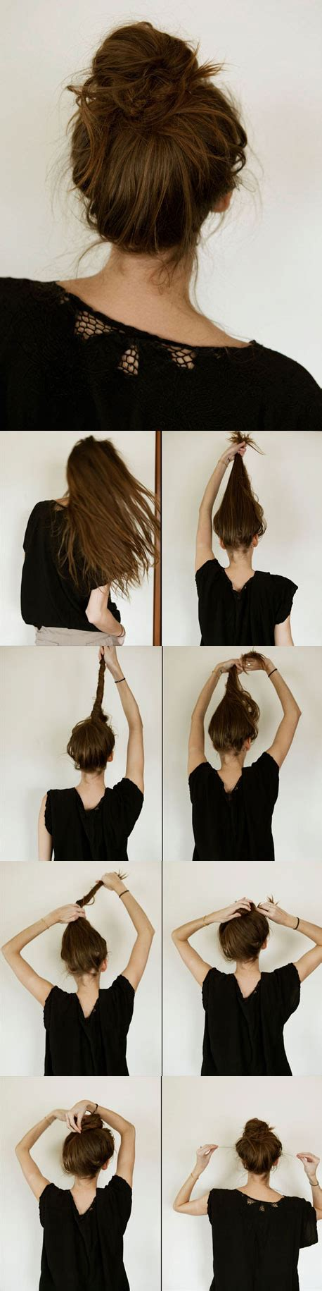 Simple Bun Hairstyles by Wonderful 13 Simple Bun Hairstyles