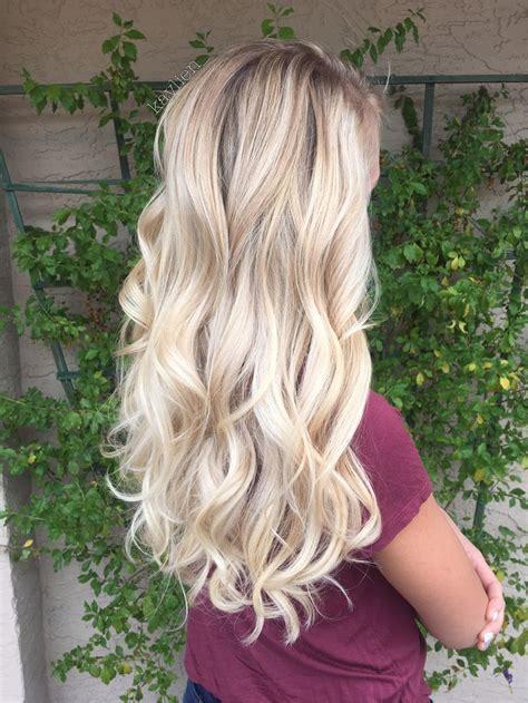 hairstyles blonde highlights blonde balayage on natural level 8 hair http postorder