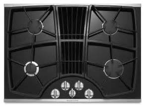 Cooktops gas downdraft 30 inch 4 burner downdraft cooktop