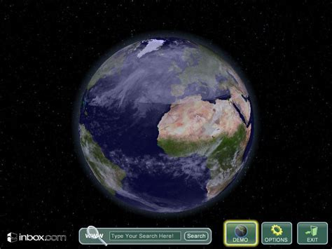 wallpaper earth rotation rotating earth screensaver