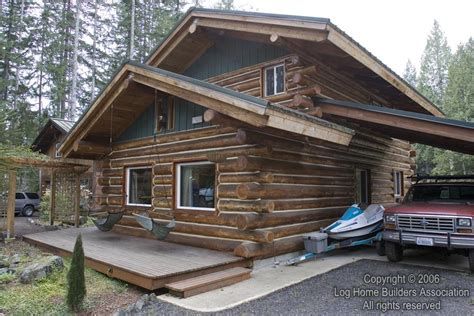 a really cool log home log home builders association