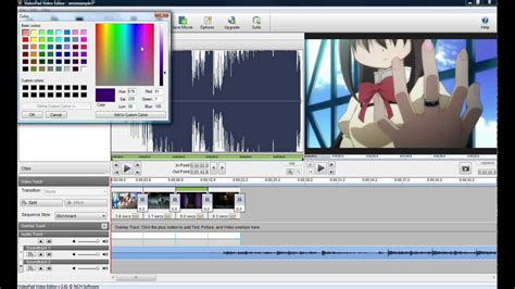 tutorial menggunakan videopad video editor lady tsuki s amv tutorial feat videopad video editor