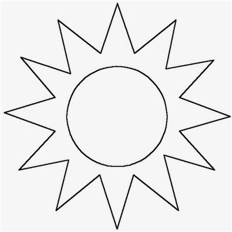 sol para recortar desenhos de sol para pintar colorir imprimir sol de