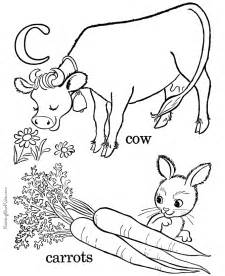 Galerry alphabet colouring in book