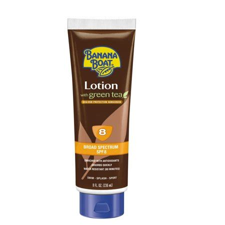 banana boat tanning lotion banana boat deep tanning lotion sunscreen with green tea