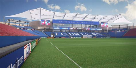 Fc Dallas Toyota Stadium Fc Dallas Releases New Renderings Of Of Fame Soccer