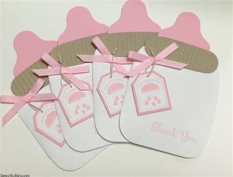 invitaciones de fomi de la baby bottle thank you set janice kohles